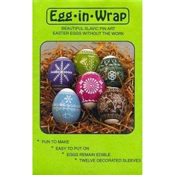 Egg-In-Wrap, Series III - Slavic Design Egg Sleeves  - Set of 12