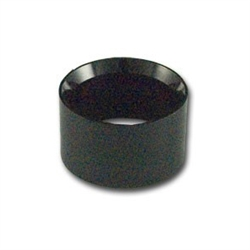 Acrylic Ring Black Egg Stand 1.5""