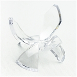 Acrylic Egg Stand, Tulip Reversible 3""