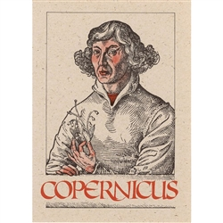 Better known to the western world as Nicolaus Copernicus, the great Polish astronomer formulated the heliocentric theory of the solar system. This work, published in 1543, was called De Revolutionibus Orbium Coelestium Libri Sex, -On the Revolutions of th