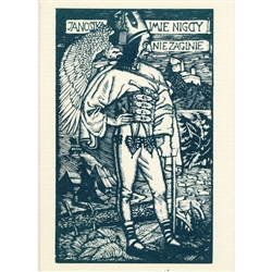 The subjects of these bold, energetic prints were the proud and fiercely independent mountain people attired in rich folk dress. Skoczylas engraved scenes of their unique customs, feats of daring, and legends of the fearless outlaw, Janosik.