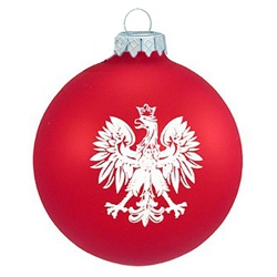 The Polish emblem dates back to medieval pennants, when the flag was all red with a white eagle. The eagle was adopted as the national symbol of the Polish State in the 15th century, and continued until the end of the 18th century when Poland lost her sta