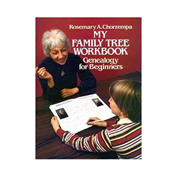 Become the family historian. This workbook provides the beginning genealogist, including young children with necessary forms and charts to plot their family history and tree.