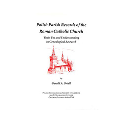 In this edition, the PGSA has expanded and updated one of the first and most widely praised references for Polish genealogical research. It discusses baptismal, marriage, and death records in detail. It has lists of names, occupations, causes of death