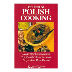 A delightful compilation of traditional Polish fare in easy-to-use menu format arranged to follow the seasons. 29 complete menus.
