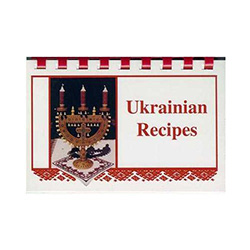 Features authentic recipes plus illustrations of egg designs from Luba Perchyshyn of the Ukrainian Gift Shop.  Recipes include hot punch, vanilla babka, fresh tomato and melon soup, braised carrots with scallions, meat pies with butter and onion sauce, an