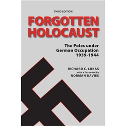 "Forgotten Holocaust has become a classic of World War II literature. As Norman Davies noted, ""Dr. Richard Lukas has rendered a valuable service, by showing that no one can properly analyze the fate of one ethnic community in occupied Poland"