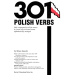 The most commonly used Polish verbs are listed alphabetically, one verb per page, and fully conjugated in a table format. Other helpful features for both language students and travelers include English-Polish and Polish-English verb indexes listing nearly