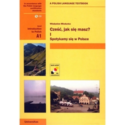 It is the first communicative textbook of Polish for beginners. It is composed of 13 lessons. Each lesson consists of Polish texts with a Polish-English vocabulary acquisition, information concerning grammar and communicative exercises.