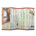 Laminated flip-style folds make this compact, sturdy, durable and weatherproof! Beautifully illustrated; contains over 1,000 words and phrases covering the basics for any trip. The phonetics are based on American English making foreign words and sounds