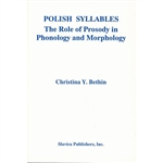 Polish Syllables is the first comprehensive study of the role that syllable structure plays in the phonology and morphology of a Slavic language.