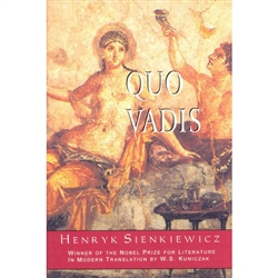 Written nearly a century ago and translated into over 40 languages, Quo Vadis has been a monumental work in the history of literature. W.S. Kuniczak, the foremost Polish American novelist and master translator of Sienkiewicz in this century, presents a mo