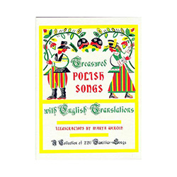 First printed in 1953, this book is a collection of 220 familiar Polish songs with a musical score for voice and piano accompaniment. Included in this book are folk songs for group singing; solos, and quartet arrangements for glee clubs and choruses; art
