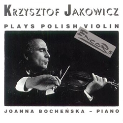 "A delightful selection of lively Polish classical music many with folk origins. If you enjoy the violin you will love these very well done pieces. Although classical in background this music is for every Polish ""soul""."