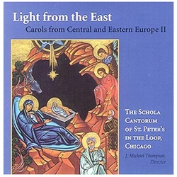Carols from Poland, Slovakia, Croatia, Hungary, Ukraine, Latvia, Russia, the Czech Republic, Moravia, Slovenia, and Romania are sung in English! The written text is included.