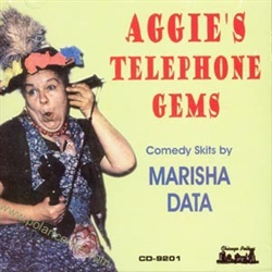 In her thirty years in the radio and recording field, Marisha Data was also an opera and concert singer and a comedienne. Gifted with a great voice and acting talent, she used her abilities well. A soloist in the Midwest and San Carlo Opera Company,