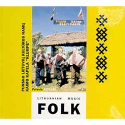 Lithuanian Folk Music Volume 28