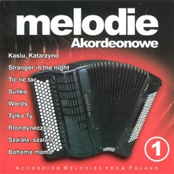 Accordion lovers!  Here is the CD collection of your dreams.  A beautiful selection of Polish and International favorite tunes played by popular Polish accordion player, Pawel Sobota.  All instrumental makes great music for listening or as background for
