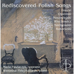 From the rich treasury of the vocal lyric of the 19th and 20th century we have chosen 25 quite unknown and rarely performed songs, composed by Polish composers whose work was in some way connected to Poznan, our home town.
