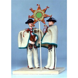 Polish Regional Doll: Mountaineers with Christmas Eve Star