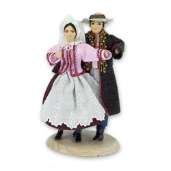 Rzeszow Couple Traditional Doll