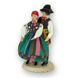 Polish Regional Doll: Lowicz Couple