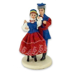 Polish Regional Doll: Kujawska Couple