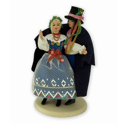 Polish Regional Doll: Pszczynska Couple