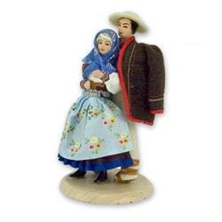 Polish Regional Doll - Cieszyn Couple
