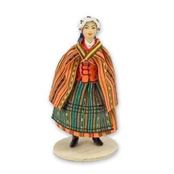 Polish Regional Doll: Opocznianka Woman