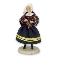 Polish Regional Doll: Sandomierzanka Woman
