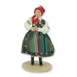 Polish Regional Doll: Lowiczanka Woman
