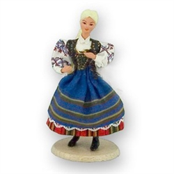 Polish Regional Doll: Podlasianka Woman