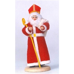 Swiety Mikolaj, or Saint Nicholas, celebrates his fist day on December 6th. On this day, Sw. Mikolaj would visit the homes of the children in the village, dressed in his bishop's robes. When Sw. Mikolaj visited the children, he gave them a gift.