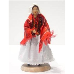 Krakow Woman Traditional Doll - 'Baba' - 5.5""
