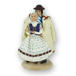Polish Regional Doll: Goral Bieszczada Couple