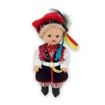 This doll, dressed in a boy's Krakowiak outfit, wonderfully crafted and fun to collect.