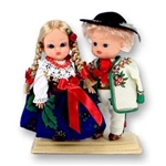 Goral Pair Baby Style Dolls - Small