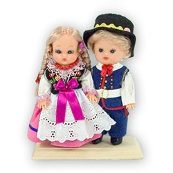 Rzeszow Pair Baby Style Dolls - Small