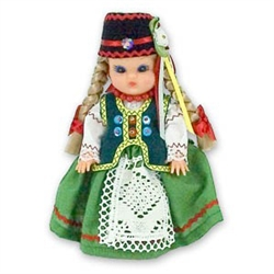Kurpie Girl Baby Style Doll - Small