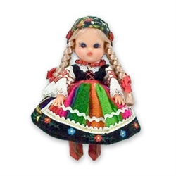 Lowicz Girl Baby Style Doll - Small