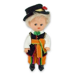 Lowicz Boy Baby Style Doll - Small