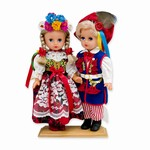 Krakow Pair - Baby Style Dolls - Large