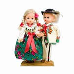 Goral Pair Baby Style Dolls - Large