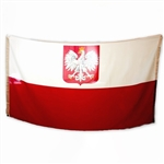 This flag is best for indoor use but not for extended outdoor use.