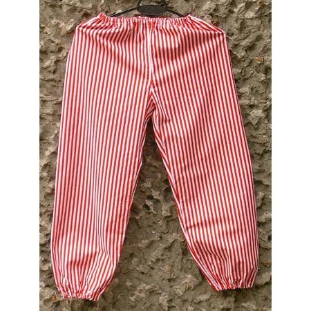 fcc41178c9 Krakow Men's Red and white striped cotton pants - Polish Art Center