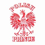 Polish Prince (White) T-Shirt, Adult