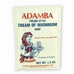 Adamba Polish Style Cream Of Mushroom Soup is delicious and easy to make. Instructions in English and Polish.