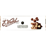 Wedel Milk Chocolate Bar with Whole Hazelnuts (220g)