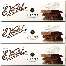 Wedel is Poland's oldest chocolate brand and one of the oldest Polish brands still in existence. For over 150 years it has been associated with genuine and original chocolate. The experience of more than one and a half century won the brand wide recogniti